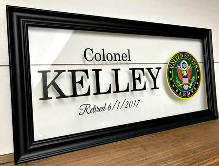 Deployment Gift | Personalized Military Frame