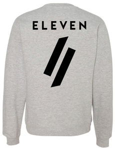 Jersey Crewneck Sweatshirt - Light Grey