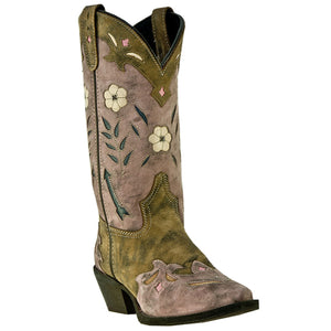 Laredo Ladies Brown/Pink Miss Kate