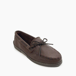 Minnetonka Mens Moosehide Classic Chocolate