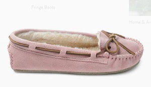 Minnetonka Moccasin Cally Pink Blush