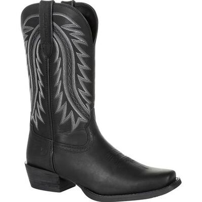 Durango Mens Ebony Rebel Square Toe