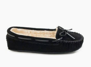 Minnetonka Moccasin Cally Black