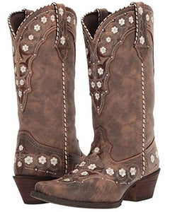Durango Ladies Brown Floral Crush