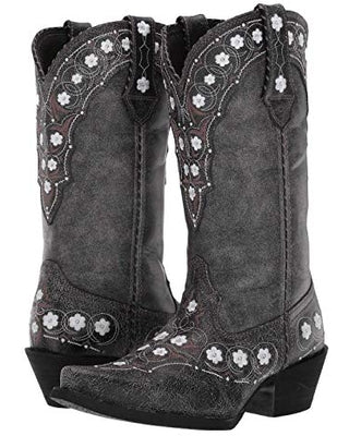 Durango Ladies Pewter Floral Crush