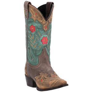 Laredo Ladies Brown/Teal Miss Kate