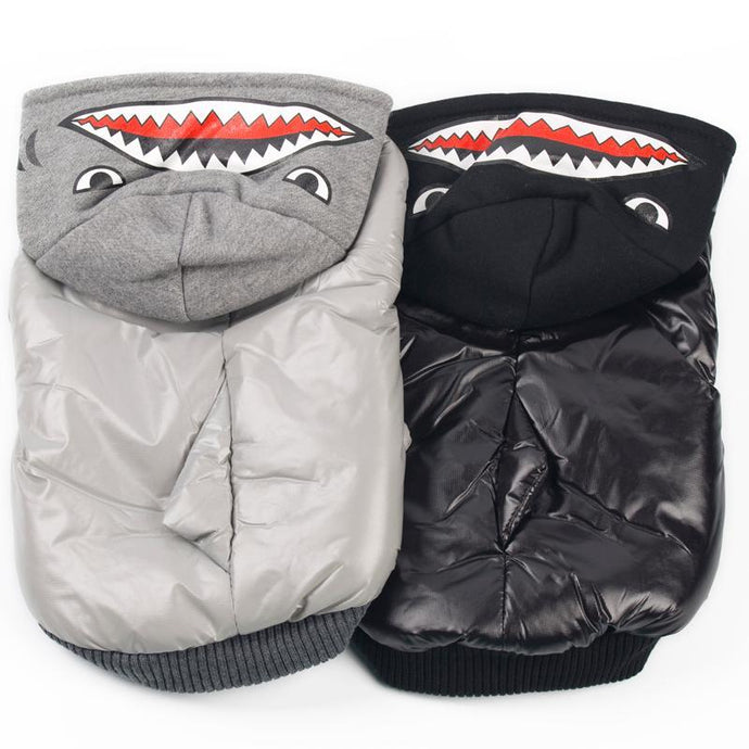 Shark Costume Jacket for Frenchie