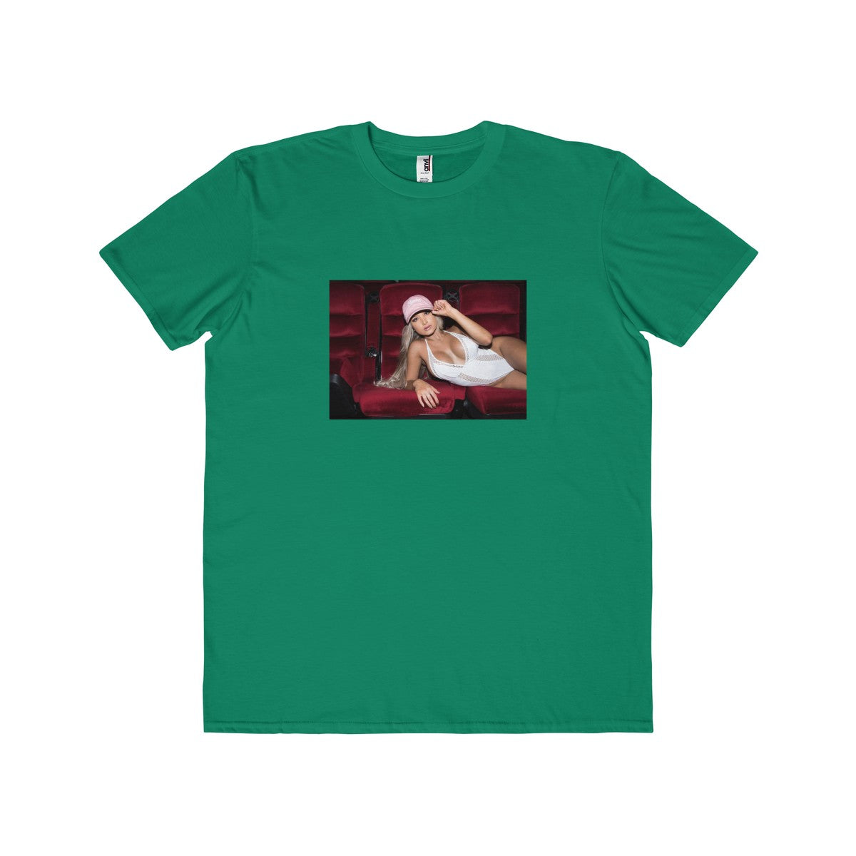 Men's Lightweight Fashion Tee with Lexi Kai Photo on front