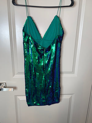 Sexy Mermaid Sequin Dress from Hot Miami Styles  Holiday SALE!!!