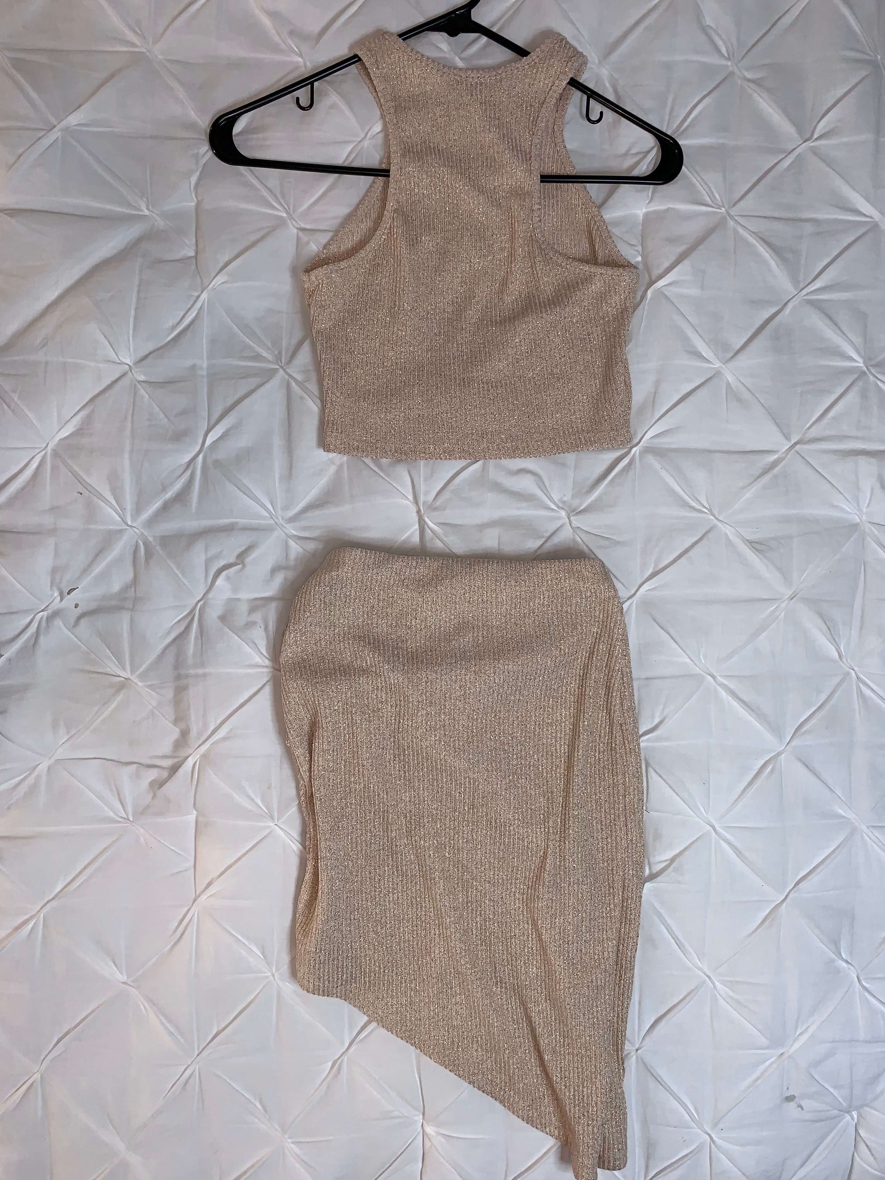 Nude Sheer Two Piece Set  Holiday SALE!!!