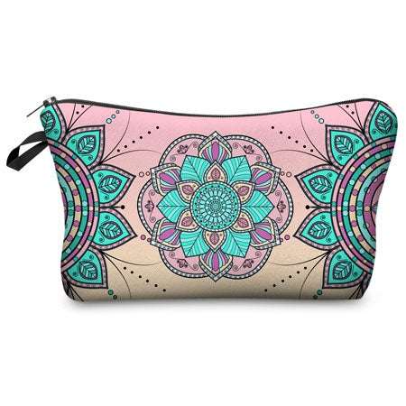 Flower Makeup Bag
