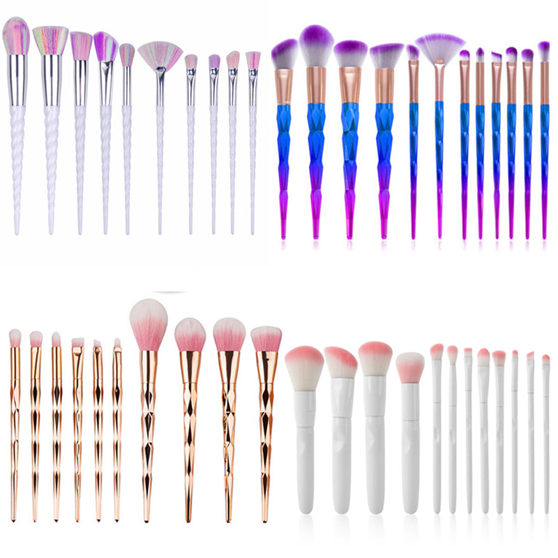Fish tail Mermaid brushes