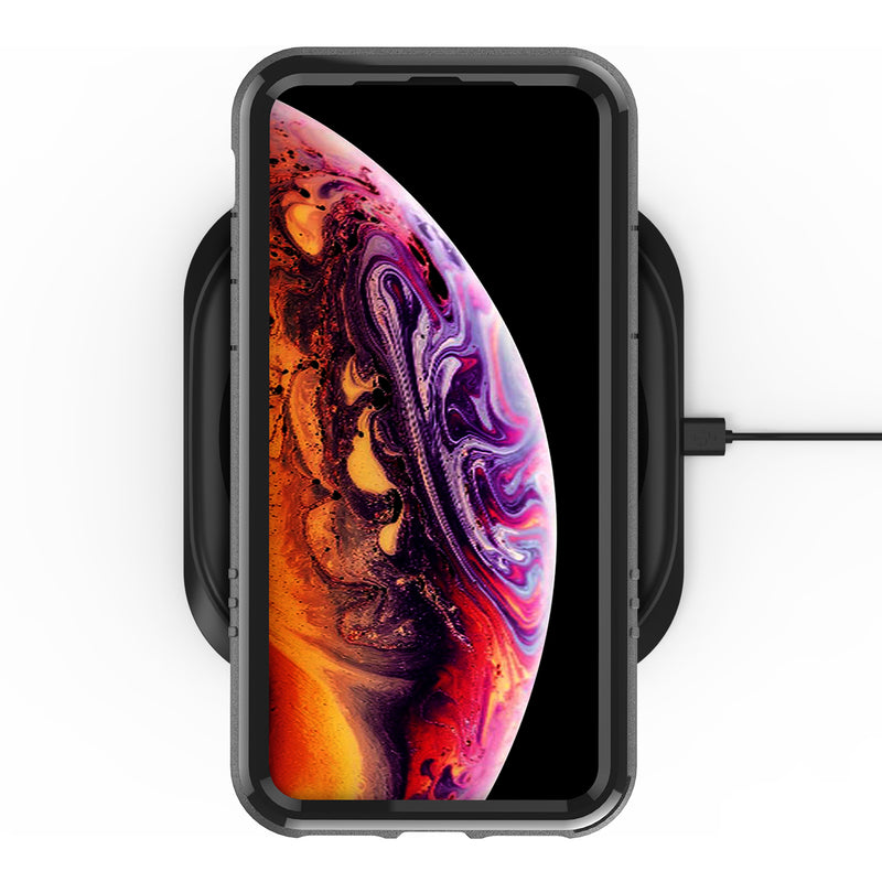iPhone Xs / X 5.8 Inch Black/Clear Case, NT882X