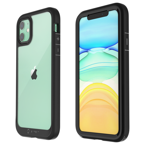 New Trent iPhone 11 (2019) 6.1 Inch Case with Full-Body Transparent Protection and Built-in Screen Protector - NT867X