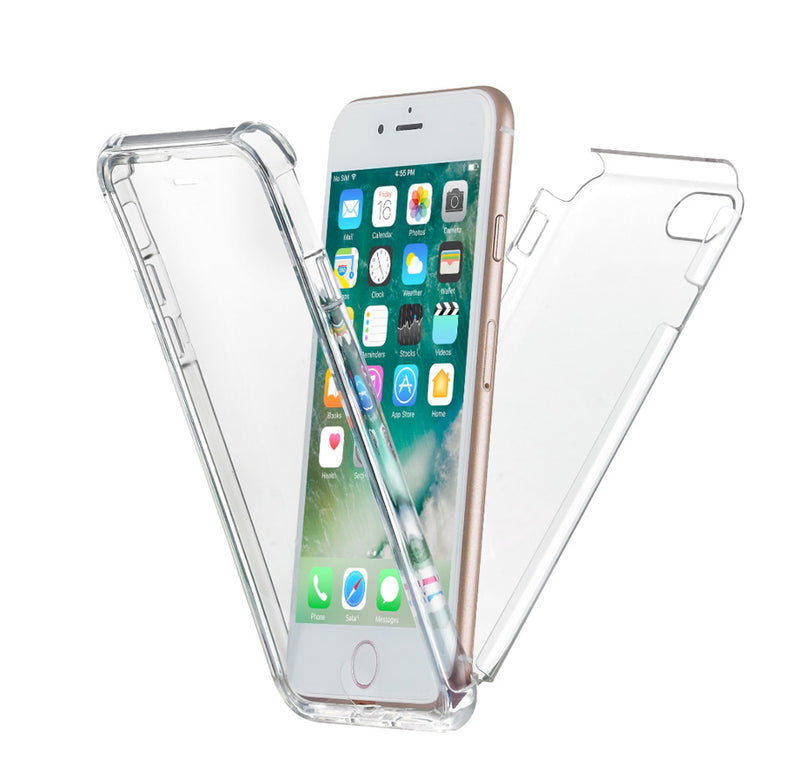 eSobala 7 Clear Transparent iPhone Case for iPhone 7 & 8, NT638TRS - iPhone Case - New Trent