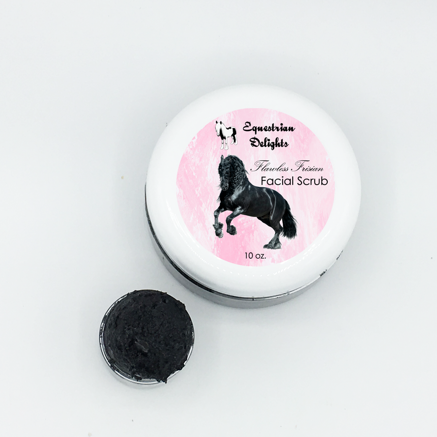 Activated Charcoal Facial Scrub, Facial Cleansing Mask, Vegan