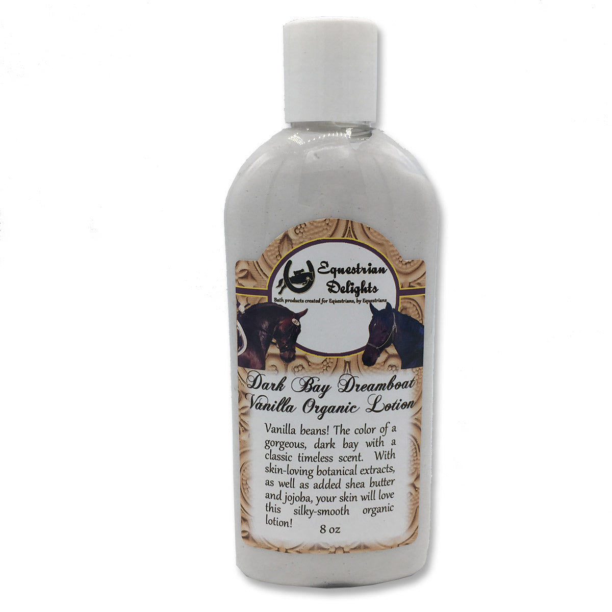 Dark Bay Dreamboat Vanilla Organic Lotion