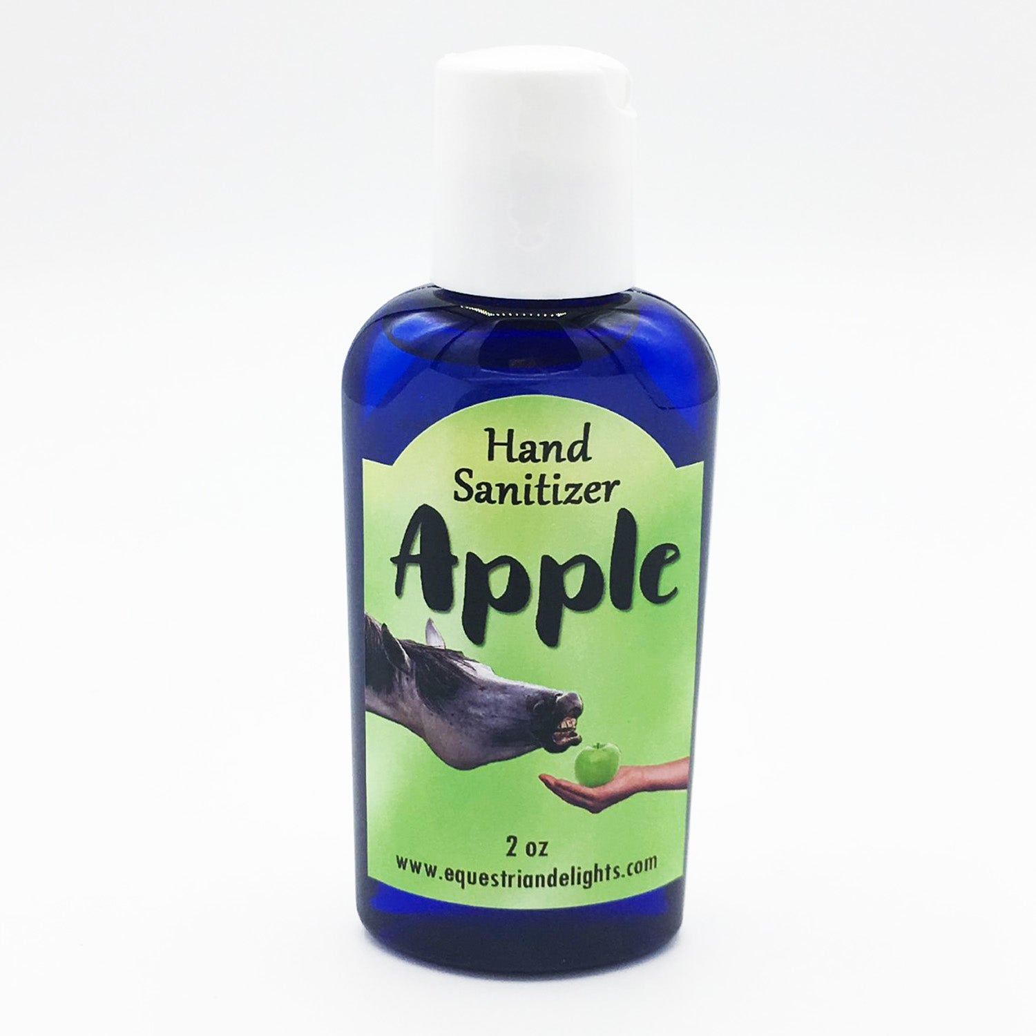 Apple scented hand sanitizing gel