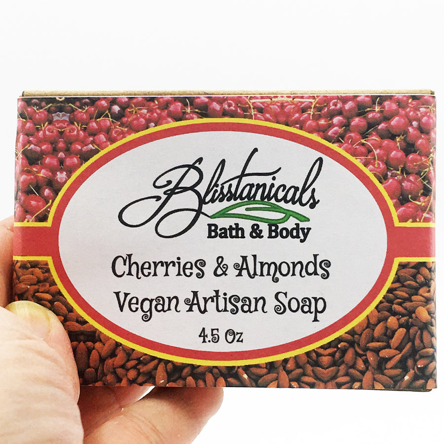 Cherry Almond Vegan Handmade Artisan Soap