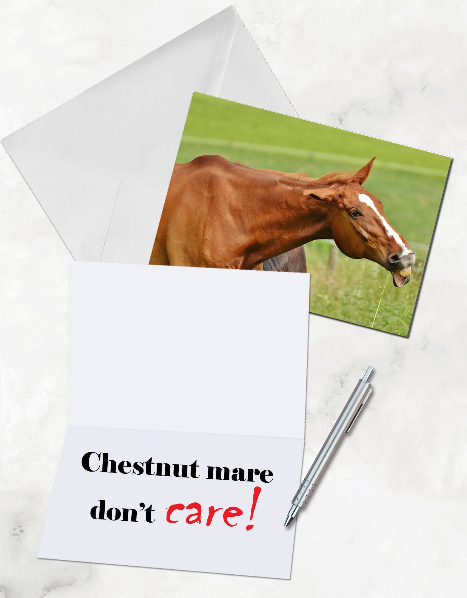 Funny Greeting Cards for Horse Lovers