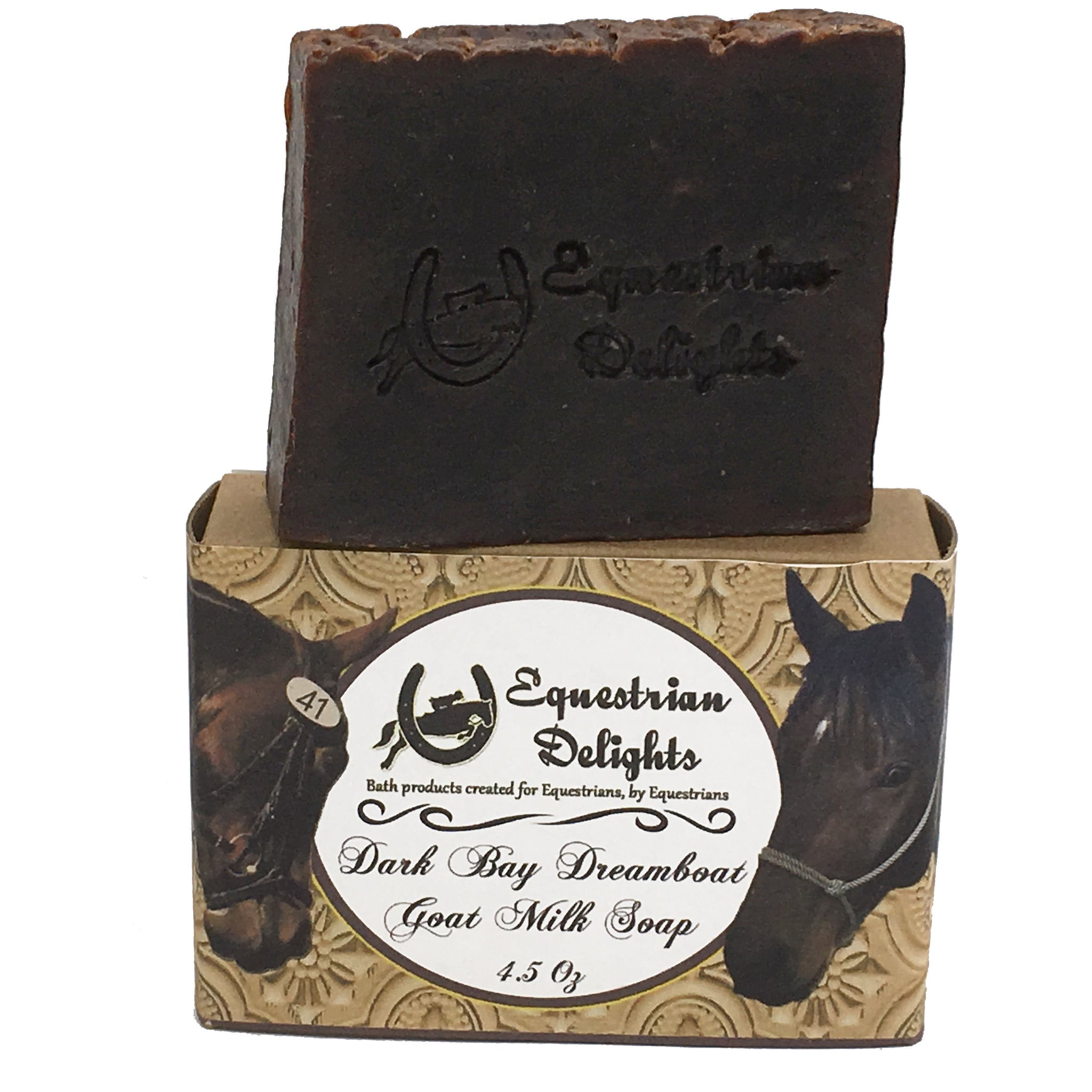 Dark Bay Delight Vanilla Goat Milk Handmade Soap