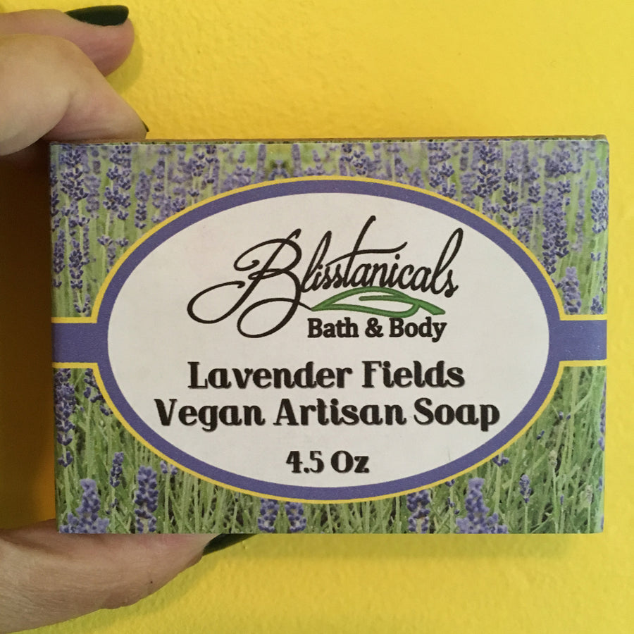 Lavender Bliss Vegan Soap