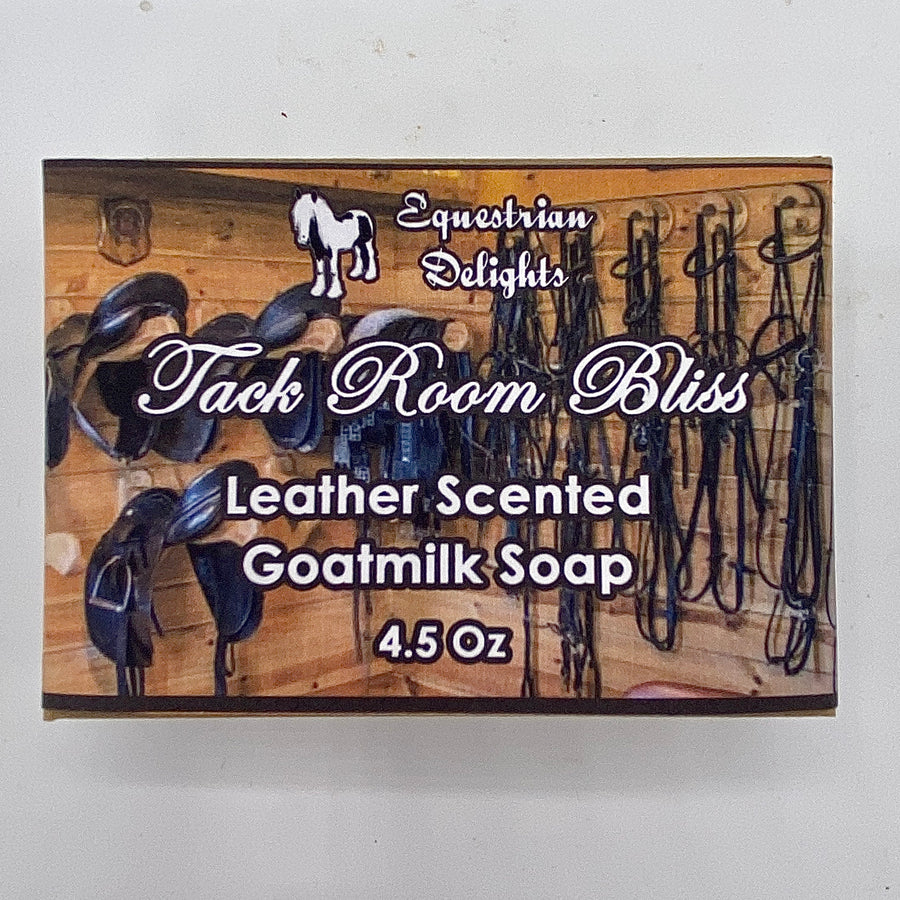 Leather Scented Goatmilk Soap, Tack Room Bliss Handmade Goat Milk Soap, Father's Day Gift
