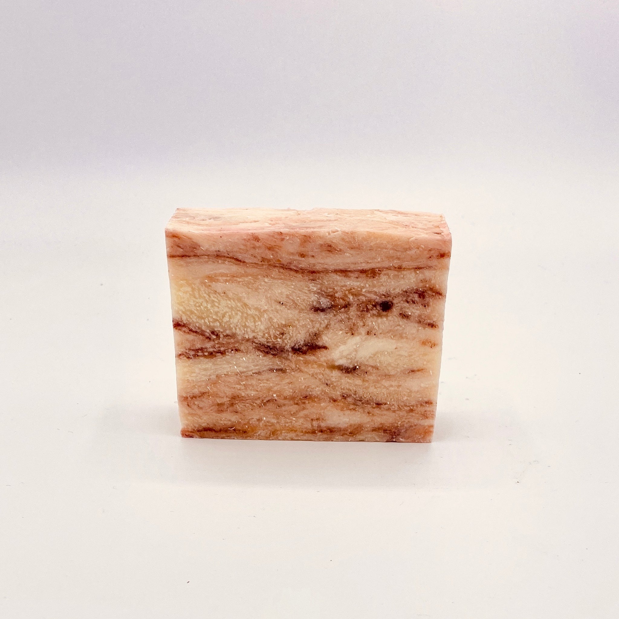 Peppermint Vegan Bar Soap, Cold Process Handmade Essential Oil Soap, Organic