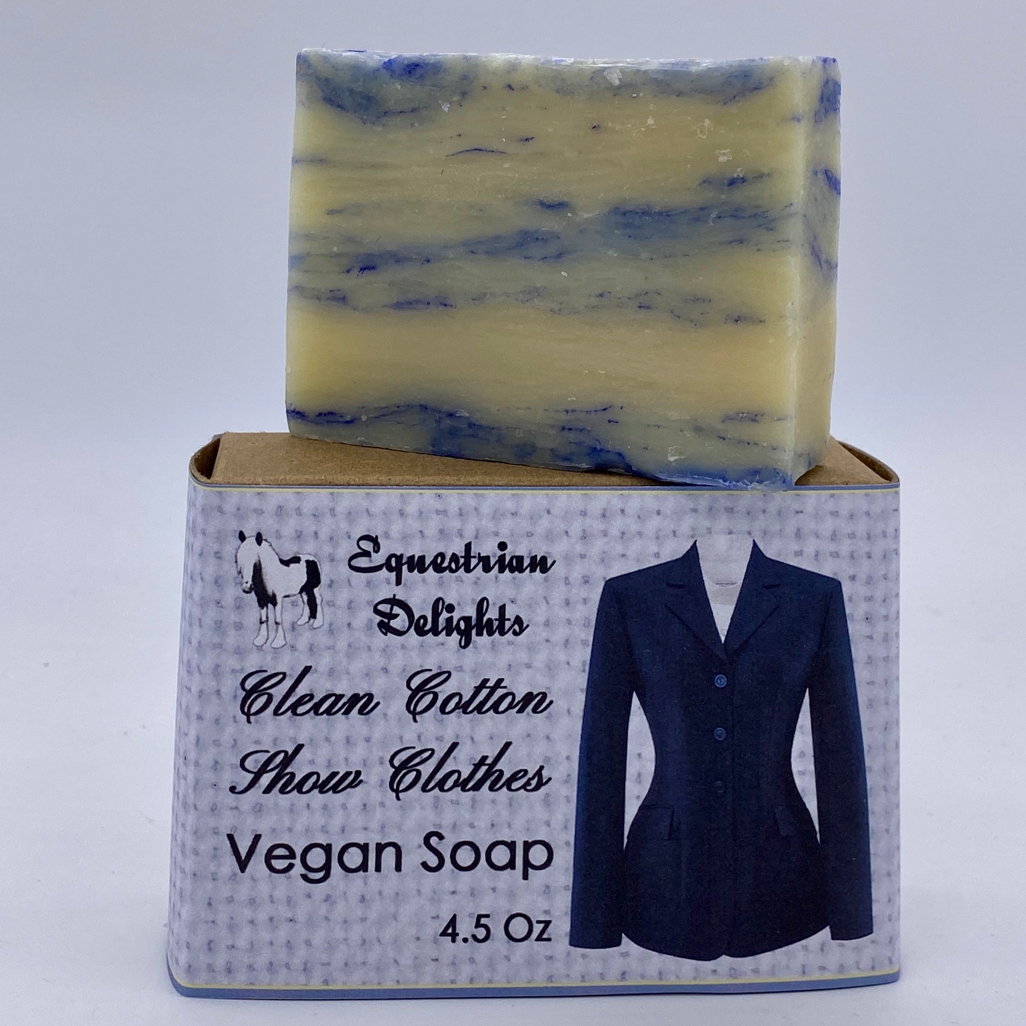 Ratcatcher Cotton Scented Vegan Soap Bar, Equestrian Gifts Under 10