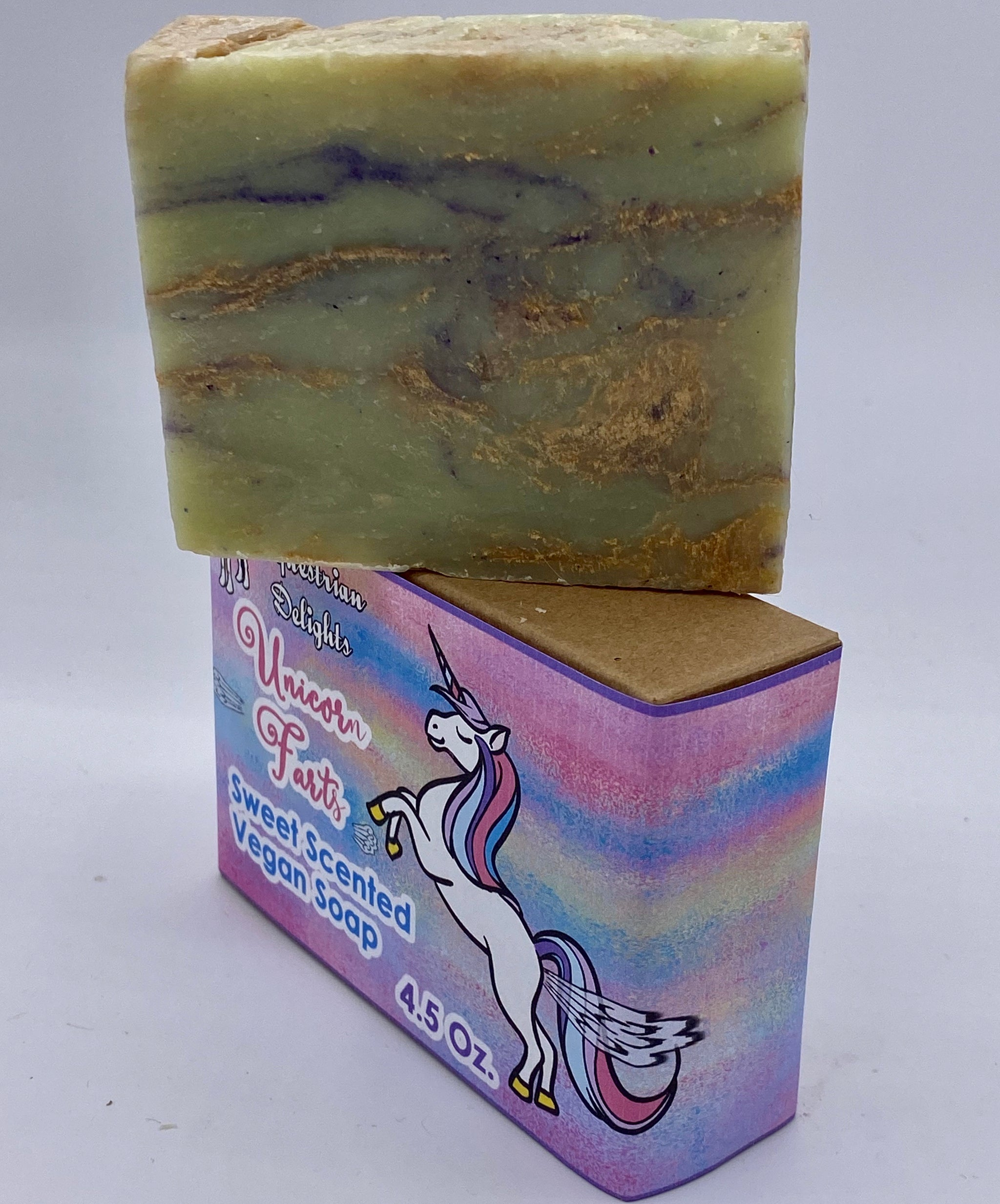 Vegan Soap for Girls, Kid's Soap, Unicorn Lover Soap, Equestrian Soap