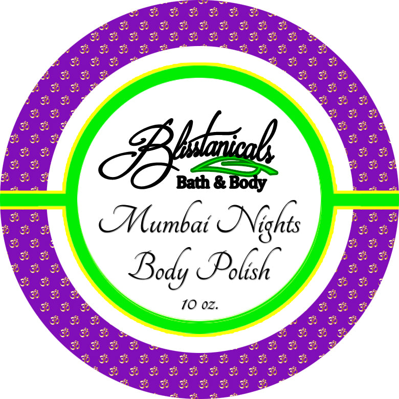 Mumbai Nights Body Scrub, Whipped Sugar Scrub, Emulsified Body Polish
