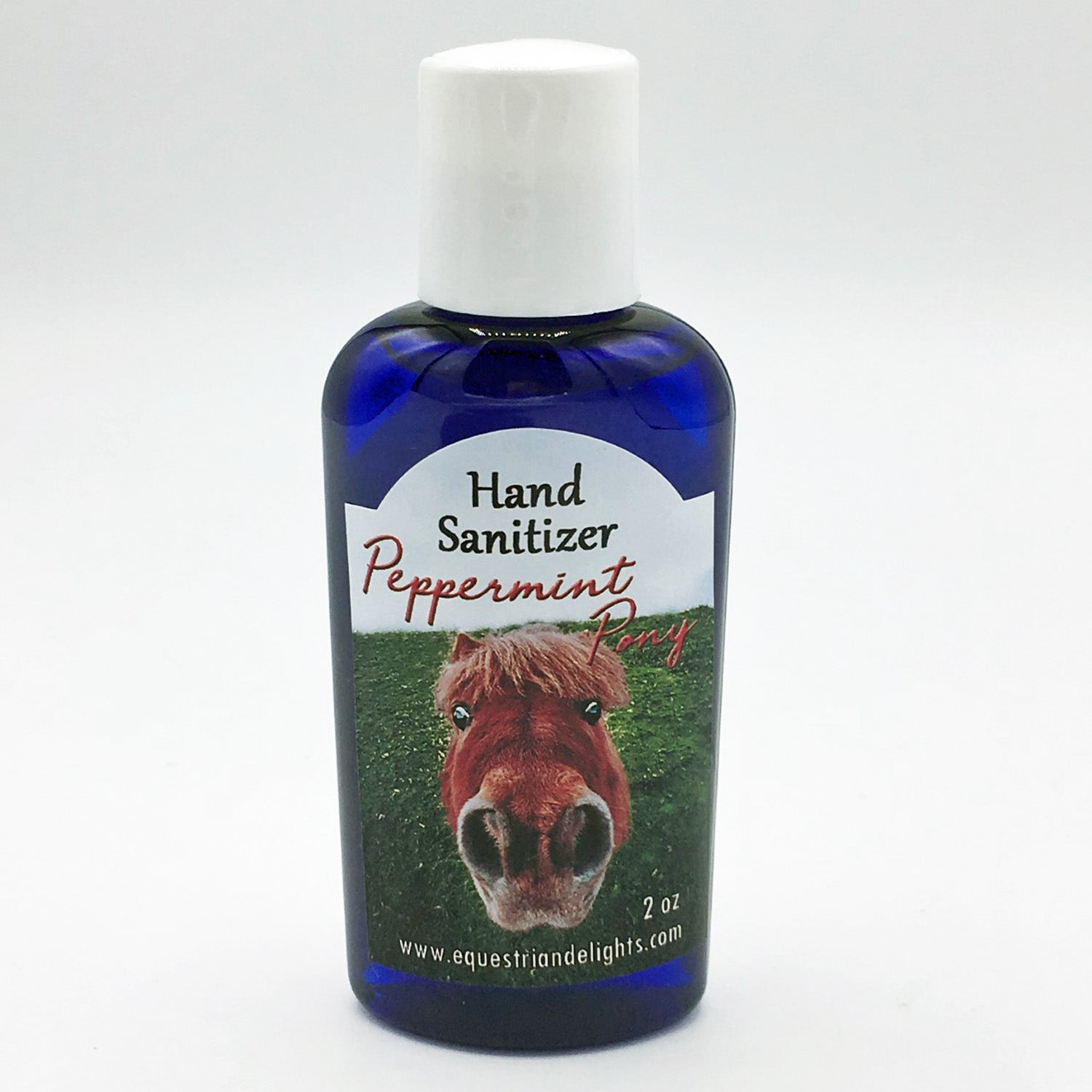 sanitizer scented with peppermint essential oil