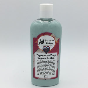 Peppermint Pony Organic Vegan Lotion