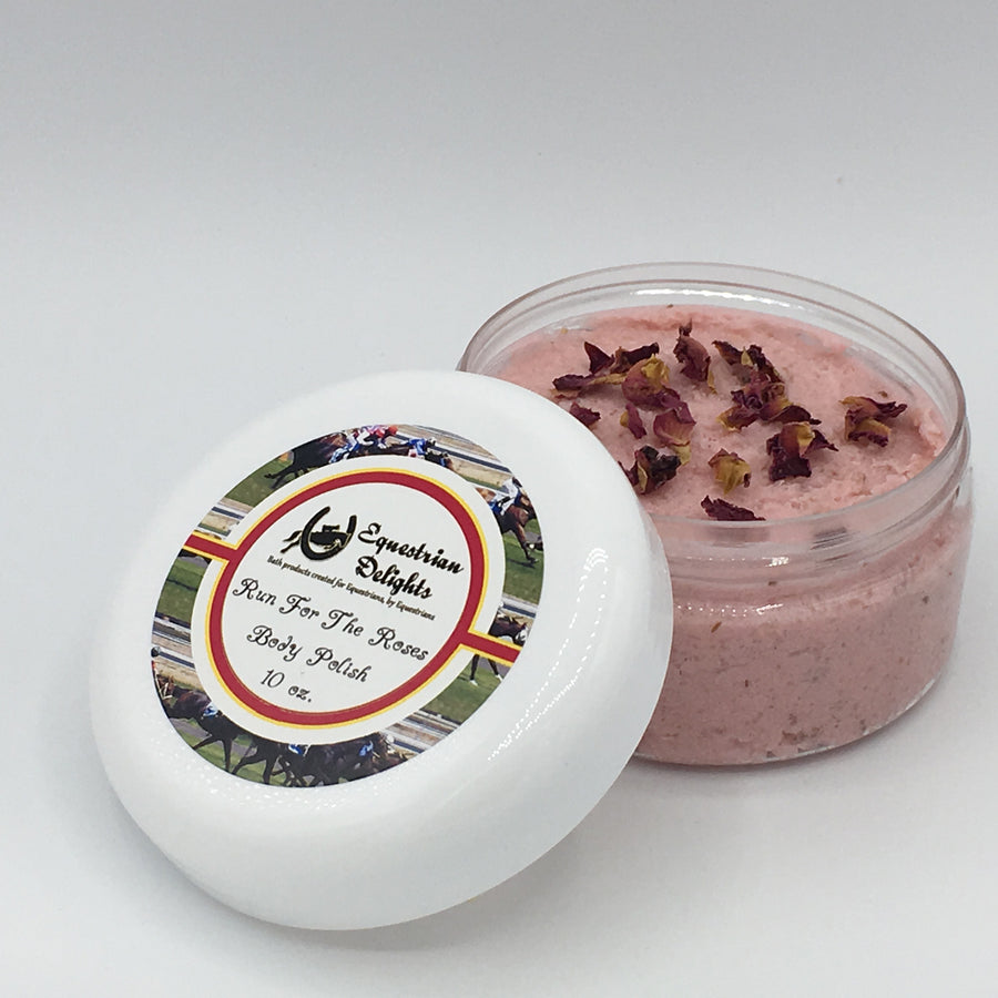 Run For The Roses Sugar Scrub, Body Polish