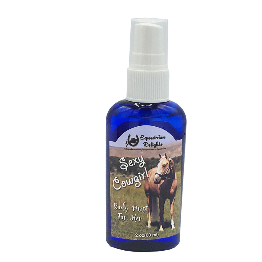 Sexy Cowgirl Body Mist for Horse Lovers