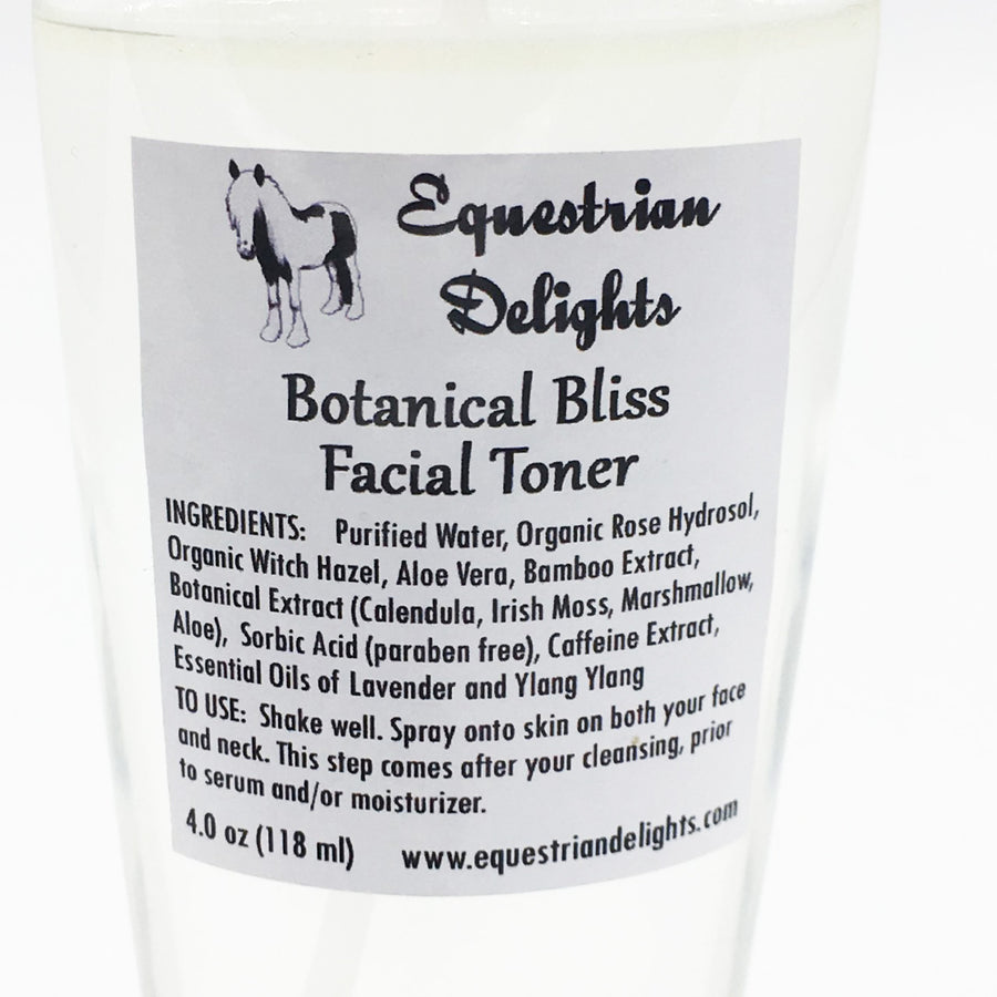 Organic Facial Toner, Vegan Skincare, Makeup Setting Spray, Essential Oil Skin Care