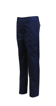 Boy's Slim Fit Flat Front Pants - GalaxybyHarvic