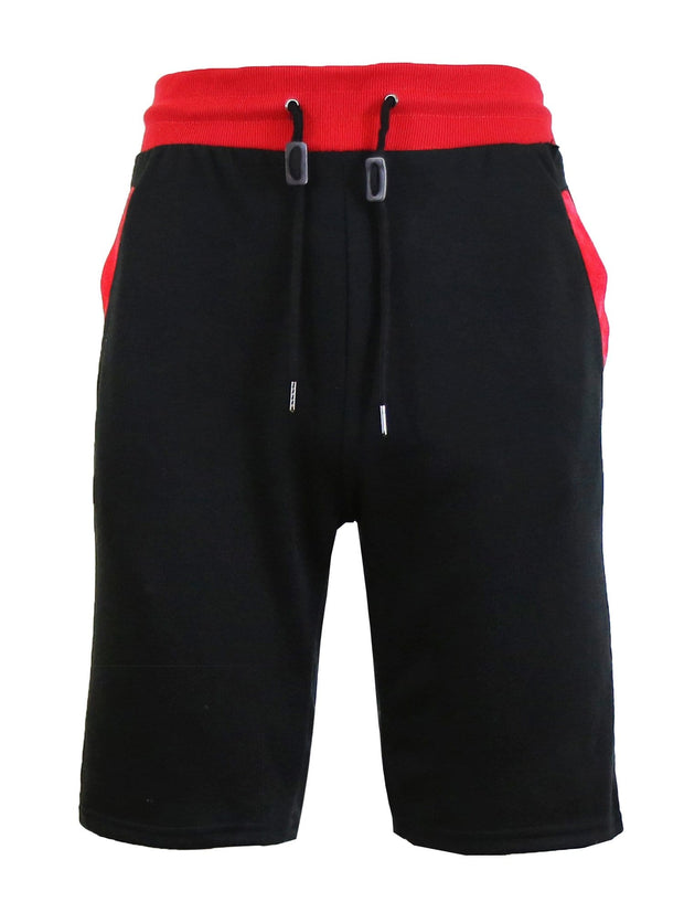 Men's French Terry Sweat Shorts With Contrast Trim - GalaxybyHarvic