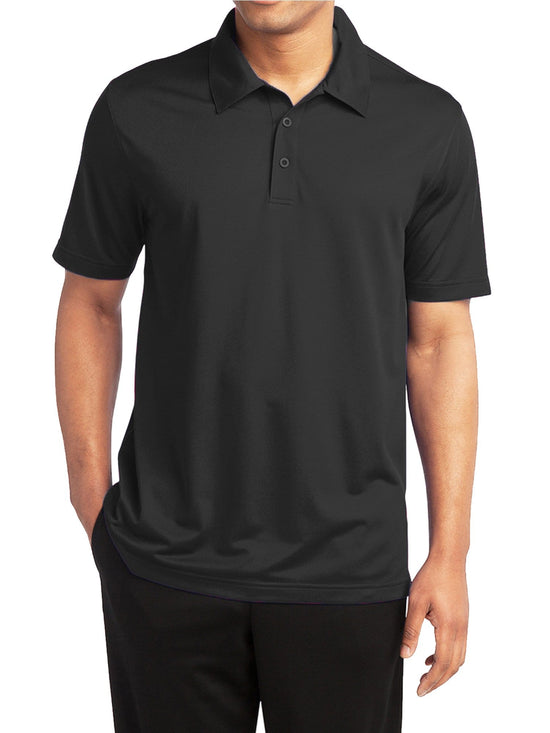 Men's Dry Fit Moisture-Wicking Polo Shirt