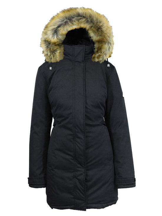 Women's Heavyweight Parka Jacket with Detachable Hood - GalaxybyHarvic