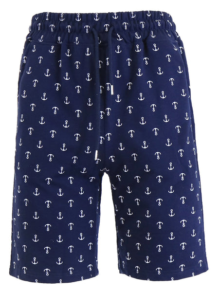 Men's French Terry Printed Shorts - GalaxybyHarvic