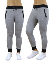 Women's Slim-Fit French-Terry Jogger Sweatpants - GalaxybyHarvic