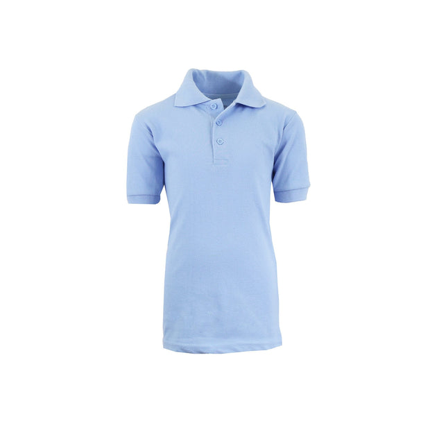 Boy's Polo - Light Blue - GalaxybyHarvic