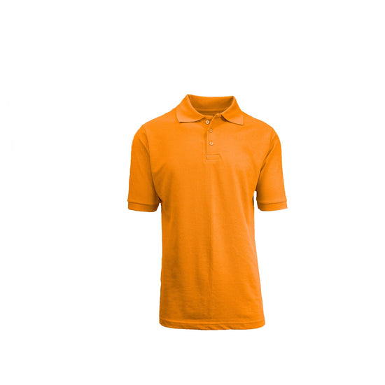 Boys Polo - Orange