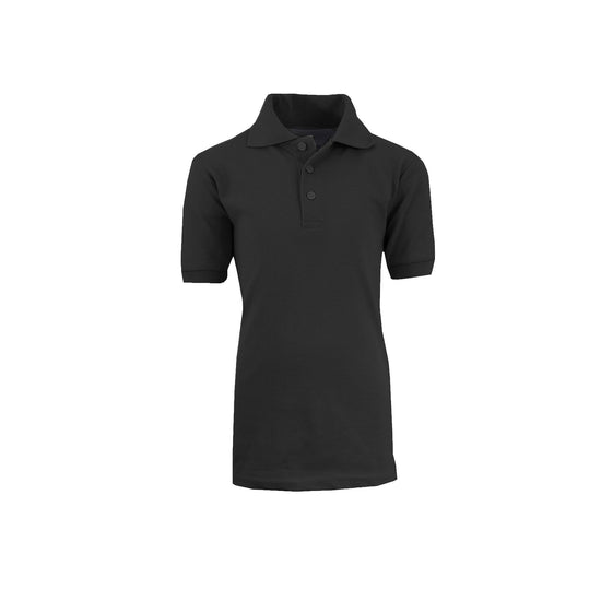 Boy's Polo - Black - GalaxybyHarvic