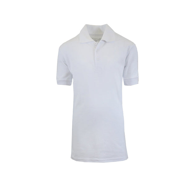 Boy's Polo - White - GalaxybyHarvic