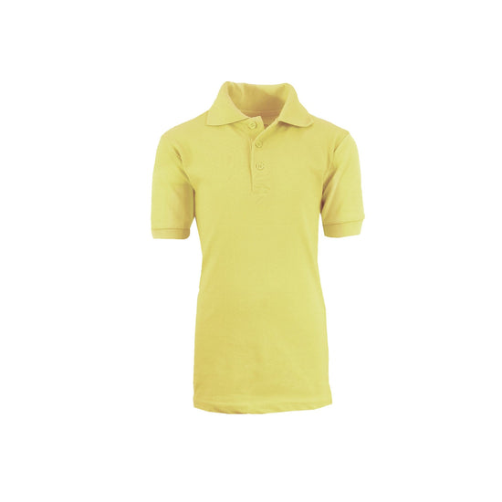 Boys Polo - Yellow - GalaxybyHarvic