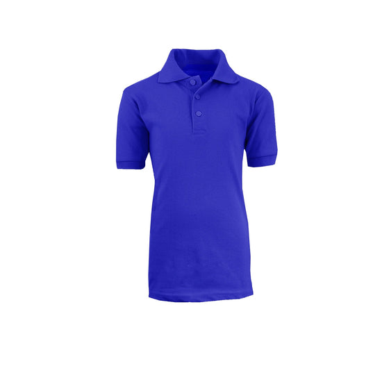 Boy's Polo - Royal - GalaxybyHarvic