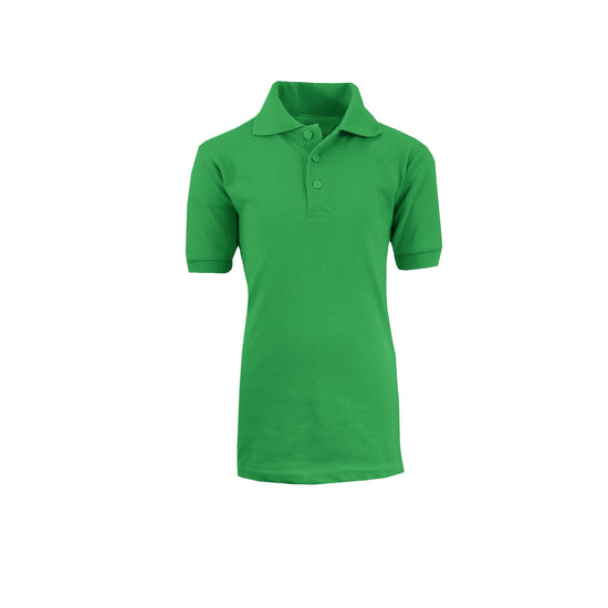 Boy's Polo - Kelly Green - GalaxybyHarvic