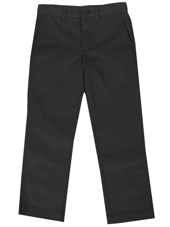 Boys Flat Front School Uniform Pants - Sizes 4-20